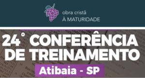 24a Conferência À Maturidade de 22 a 27 julho de 2019