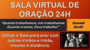 Sala virtual de oração 24h